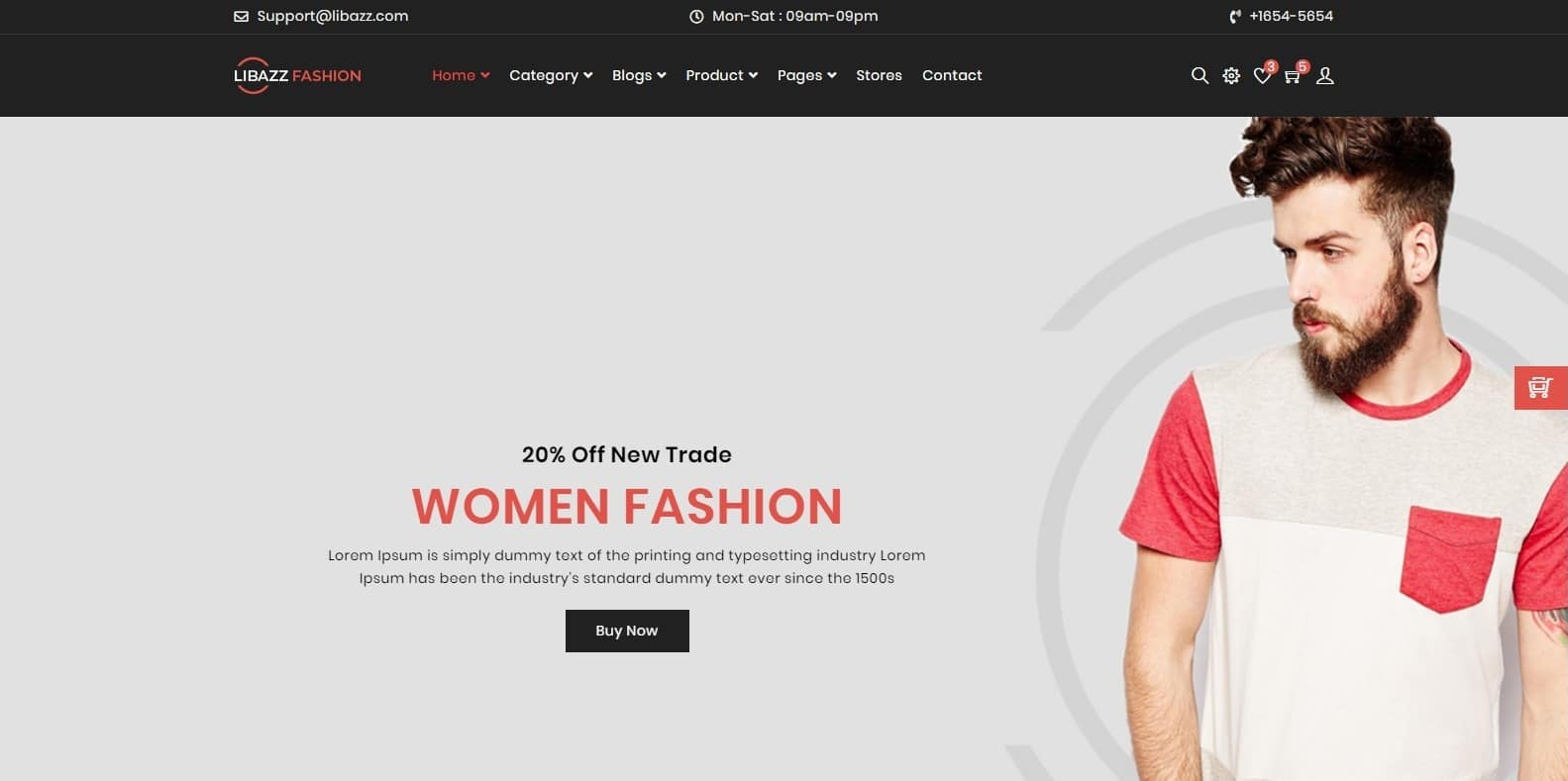 libazz-fashion-website-template