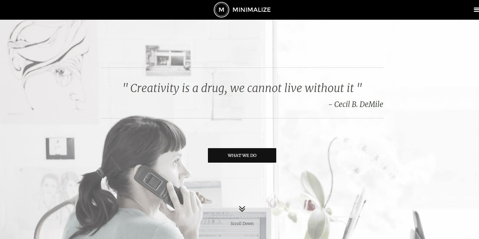 mimimalize-simple-website-template