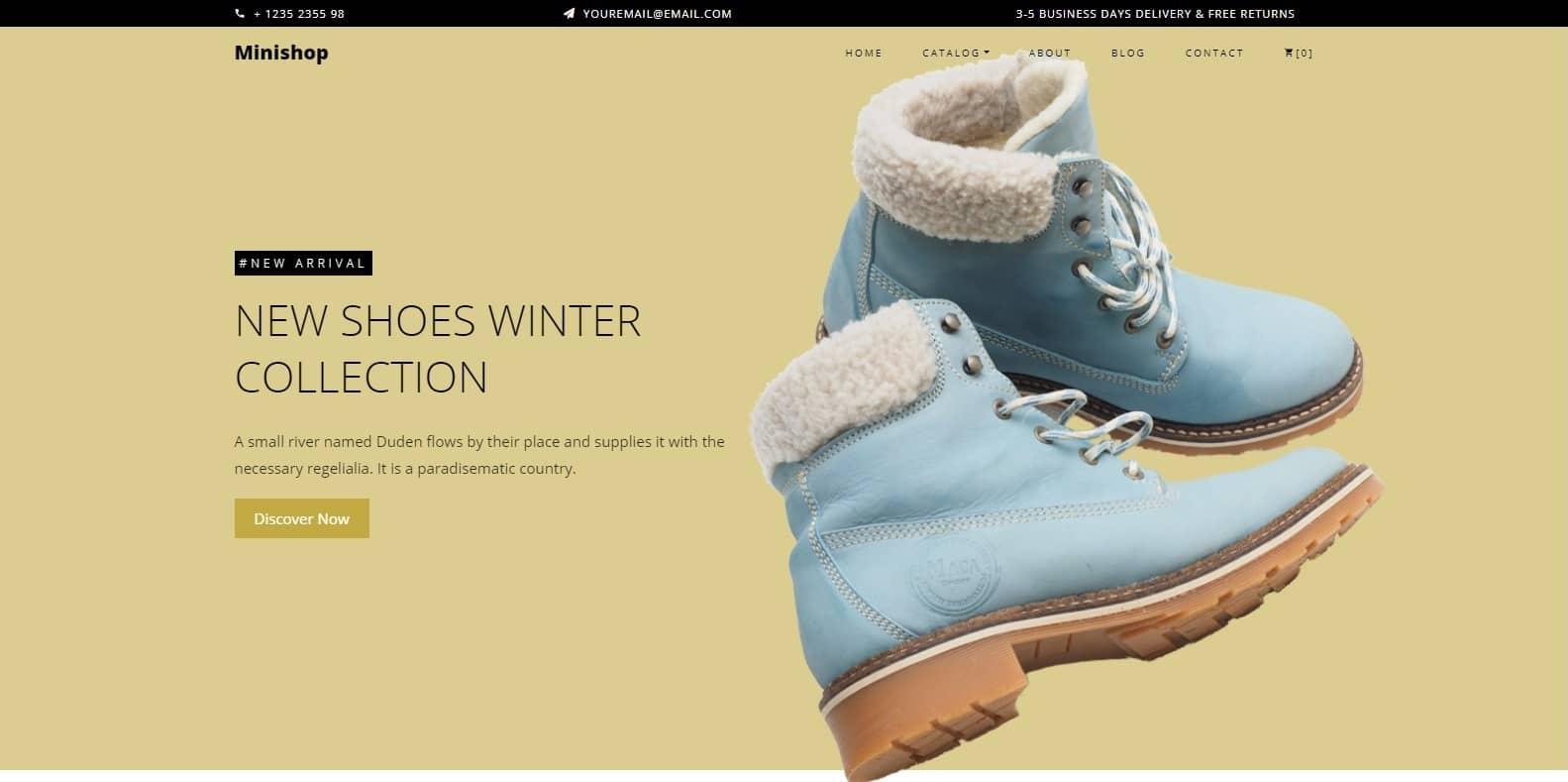 minishop-shop-website-template