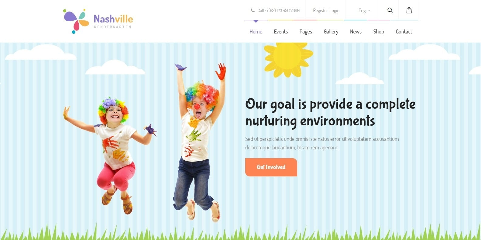 nashville-education-website-template