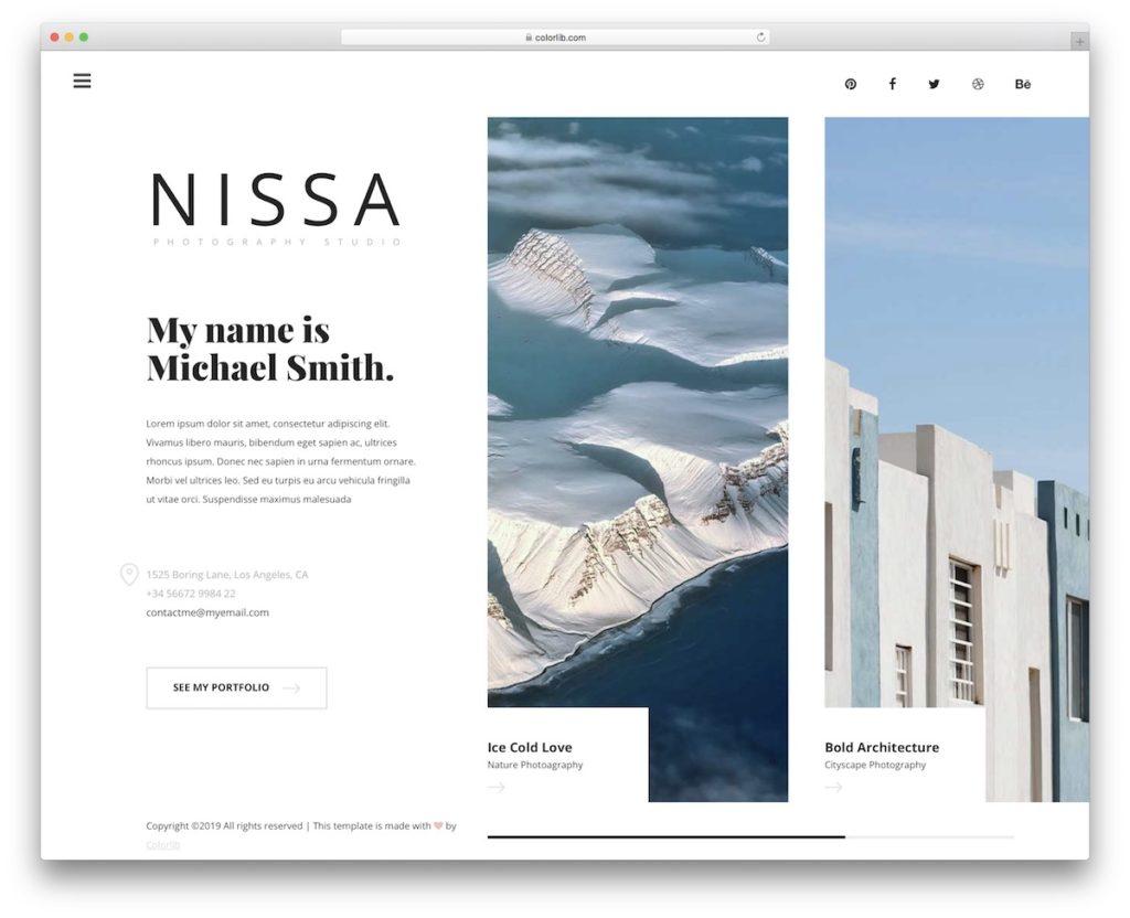 nissa-free-template
