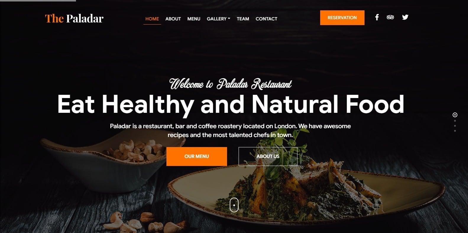 paladar-restaurant-website-template