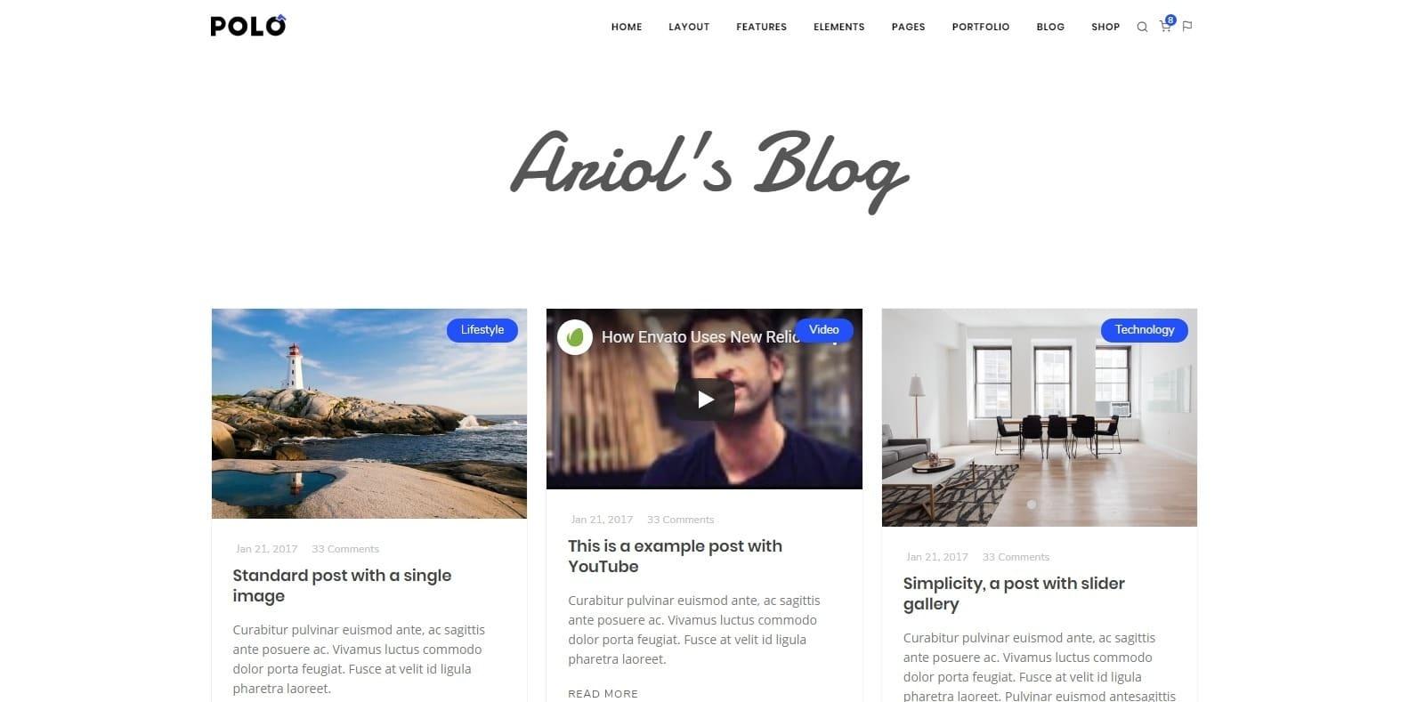 polo-blog-website-template