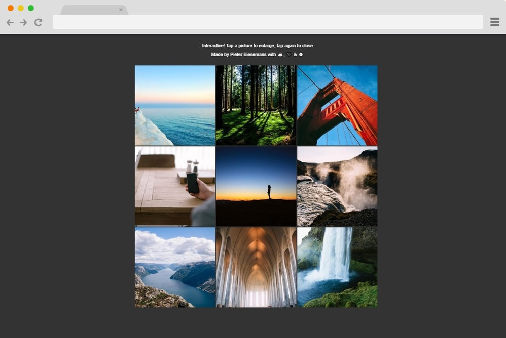35 Css Image Gallery Examples Templates 2019