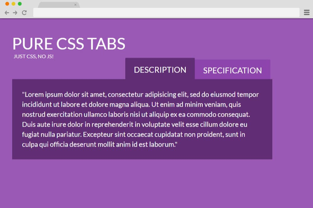 23 CSS Tab Designs For A More Organized And Professional Looking