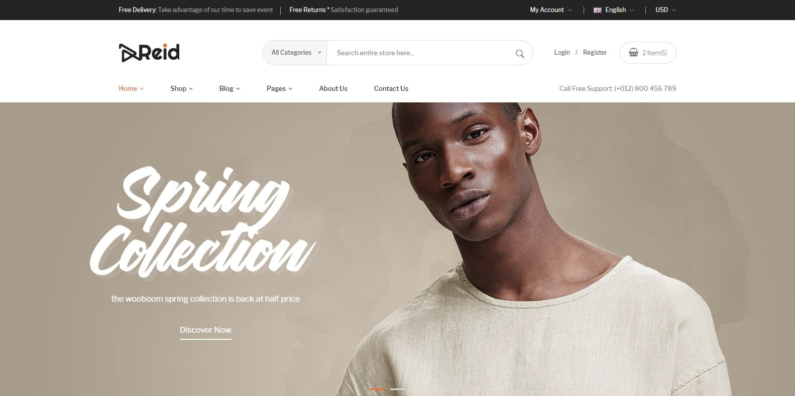 reid-fashion-website-template