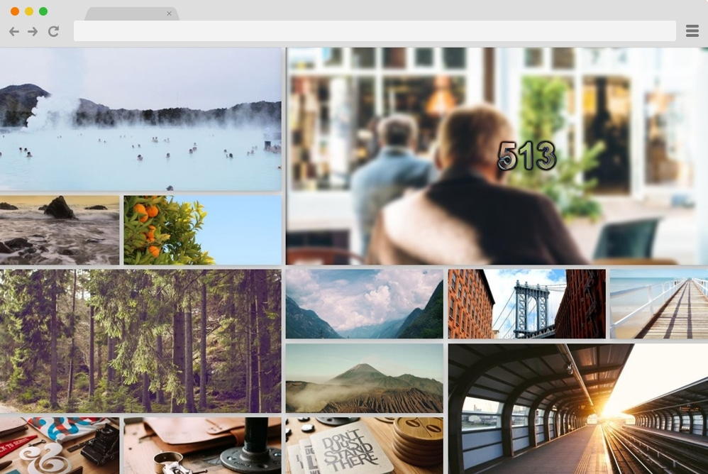 responsive photo gallery with lightbox
