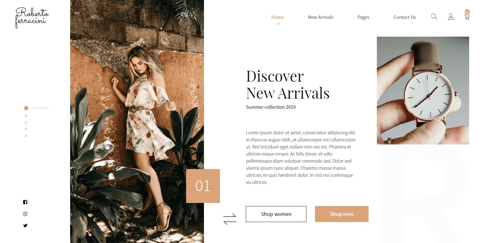 roberto-ferracini-fashion-website-template