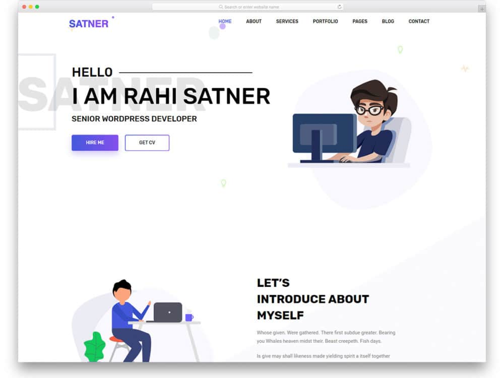25 Free Html Online Resume Templates To Leave A Lasting Impression