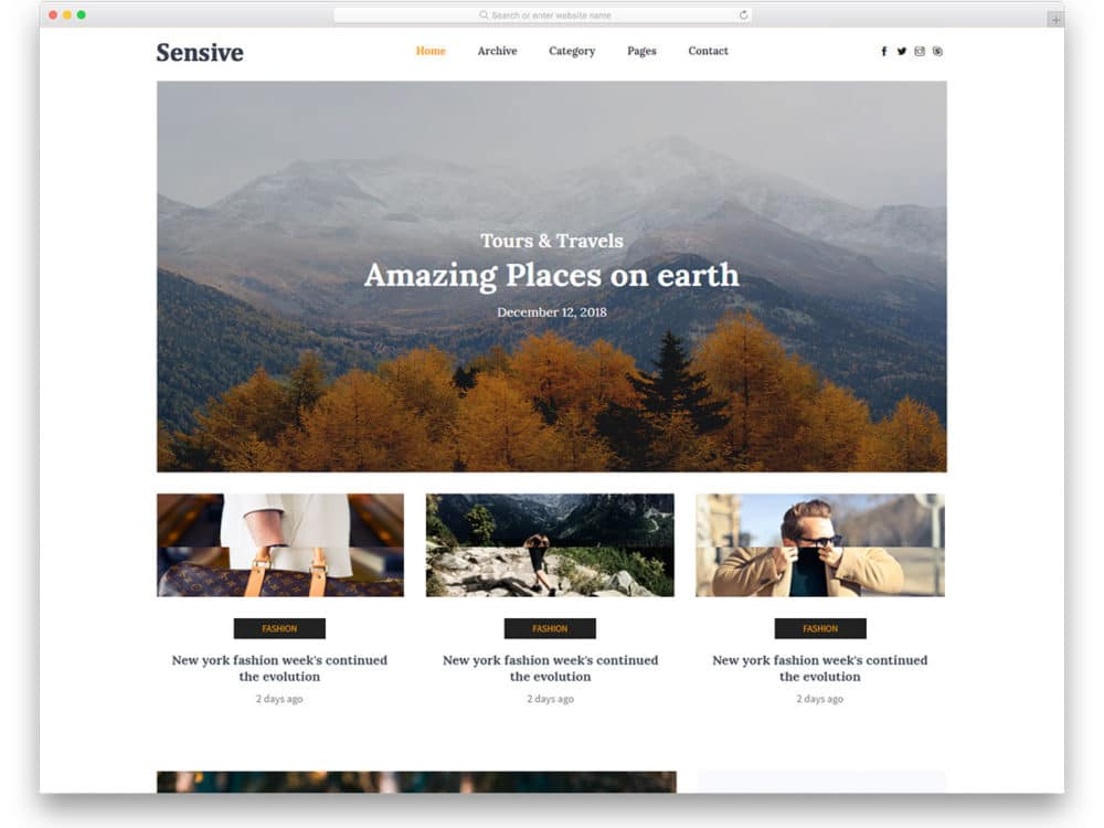 sensive-free-html-website-templates