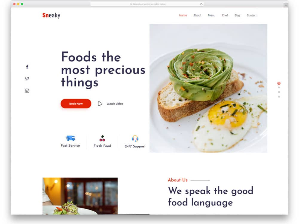 sneaky-free-responsive-website-templates