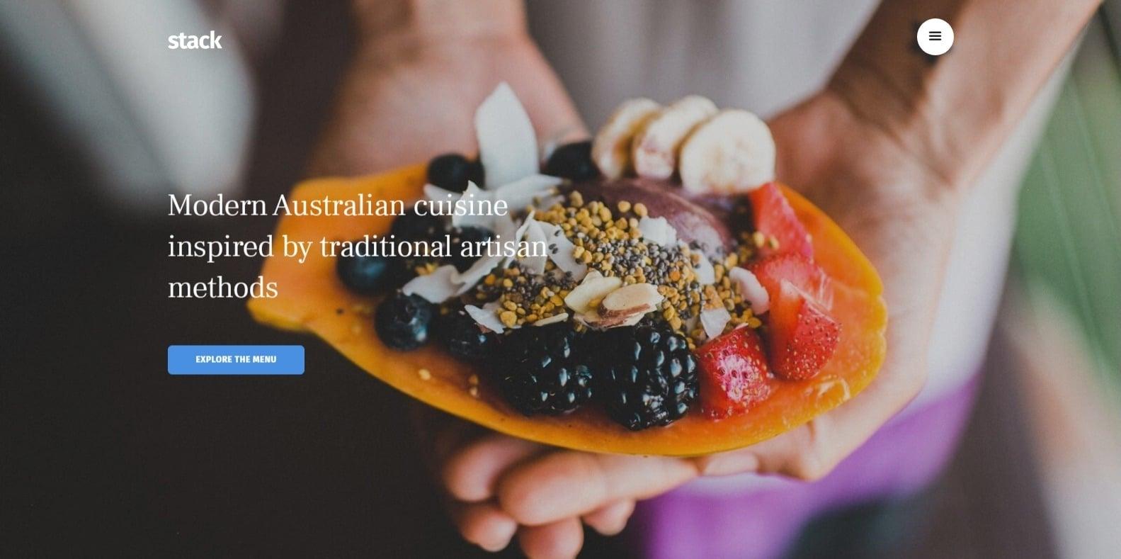 stack-restaurant-website-template