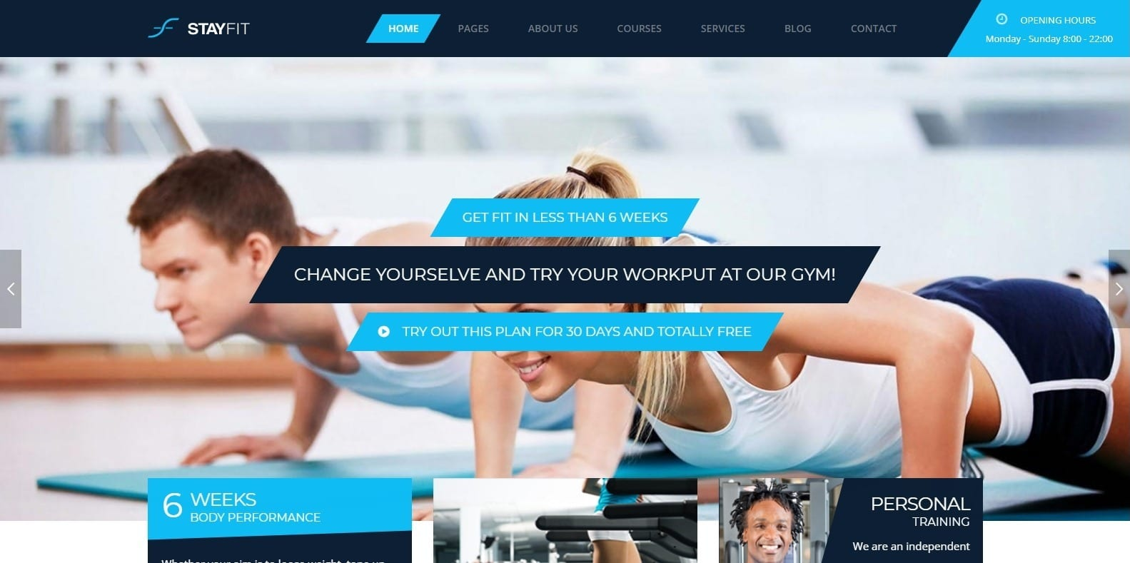 stayfit-gym-website-template