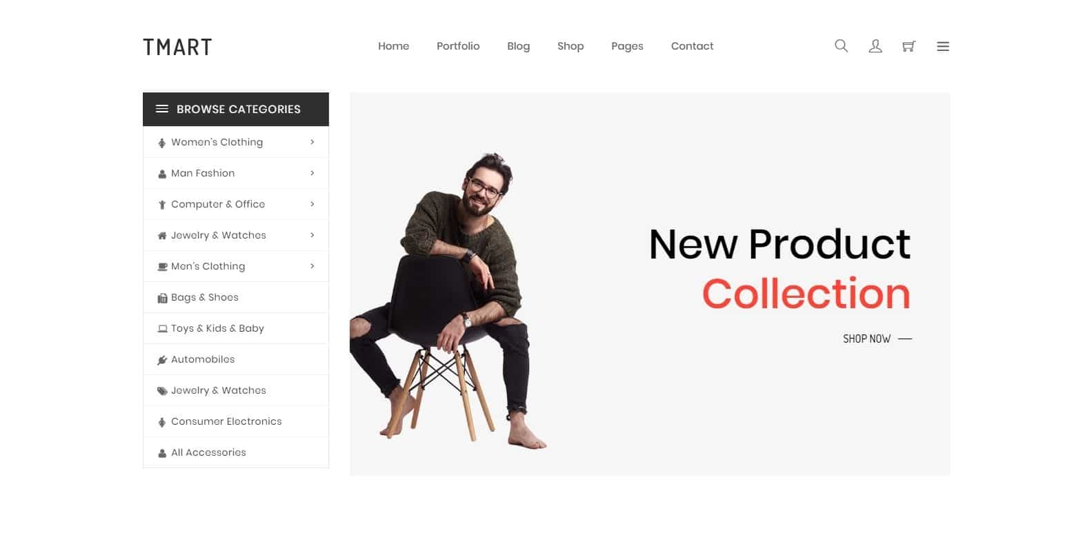 tmart-single-website-template