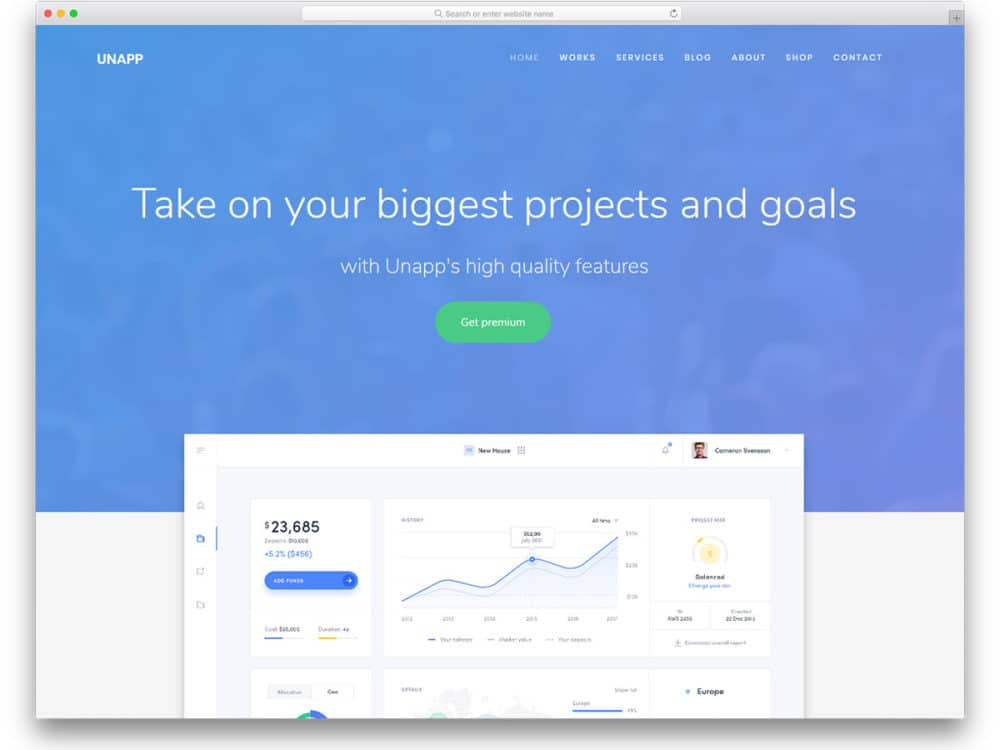36 Best Free One Page Website Templates For Goal Focused Sites 2019
