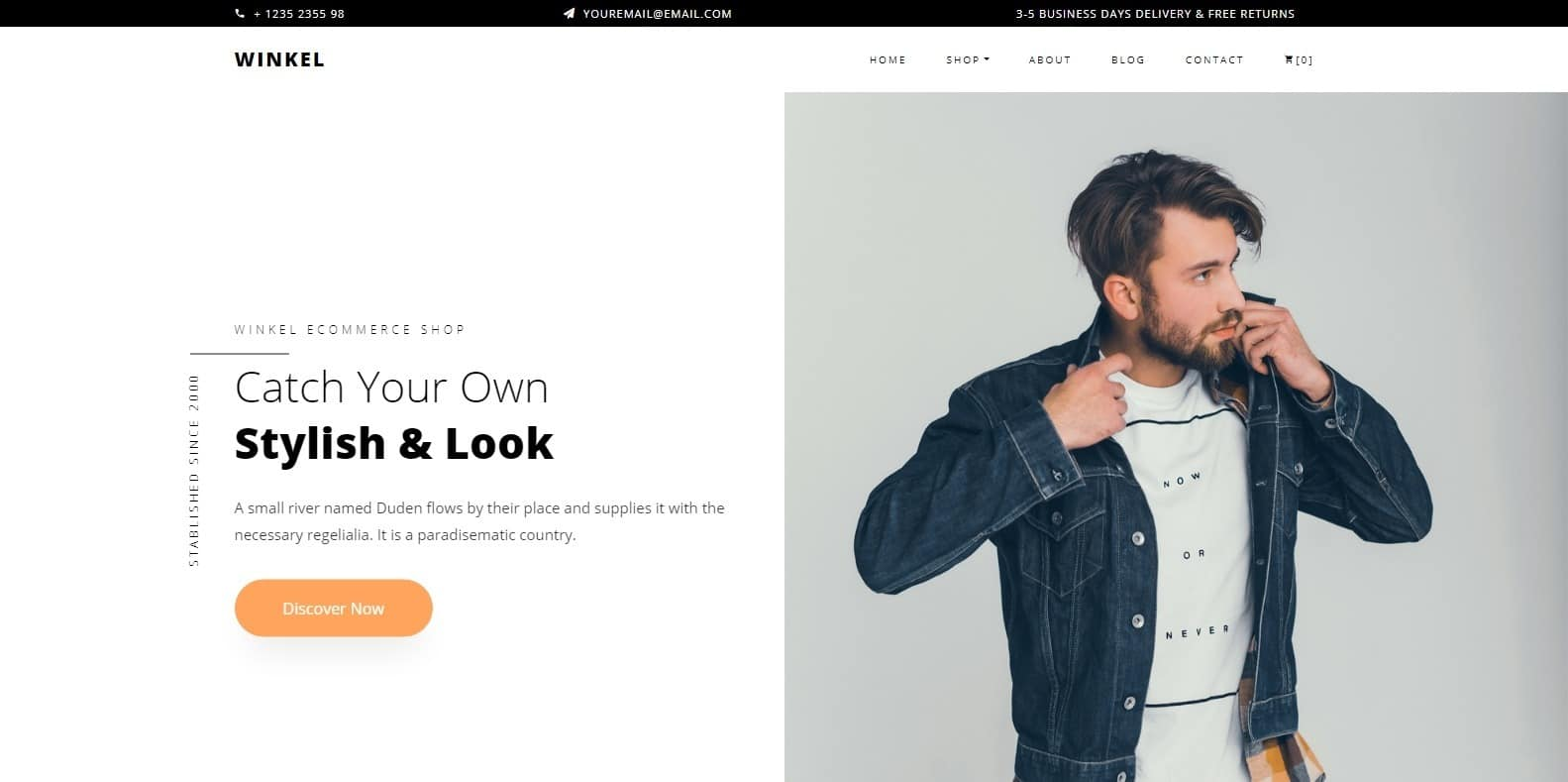 winkel-shop-website-template