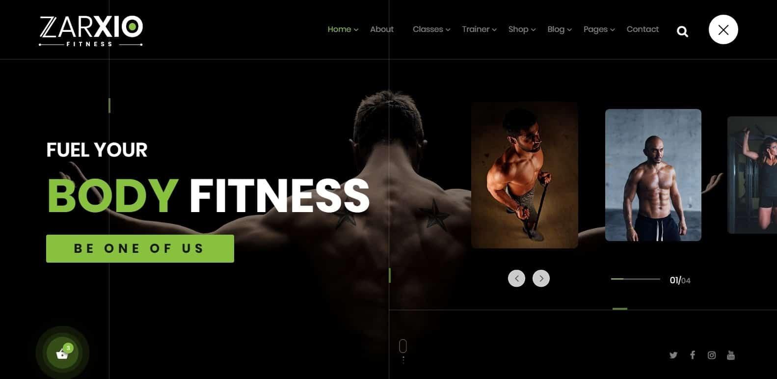 zarxia-gym-website-template