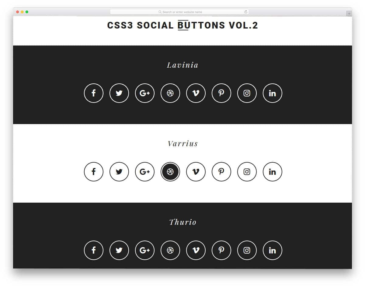 CSS3-Social-Buttons-Vol2