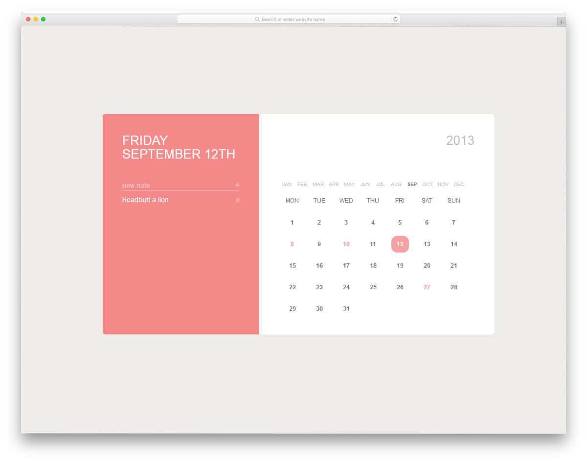 Calendar-By-Alex-Oliver-css-calendar