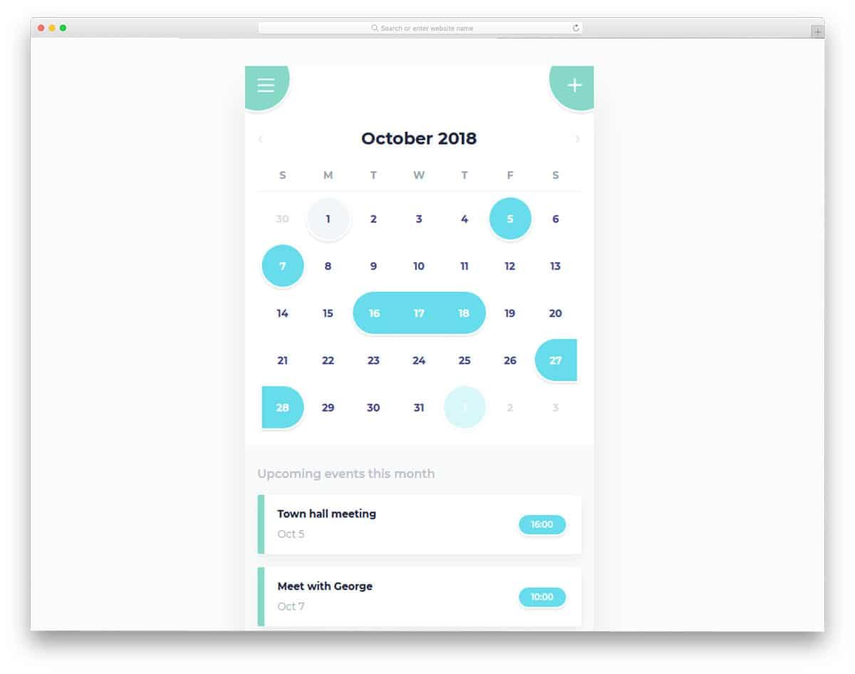 Calendar-Mobile-App-UI