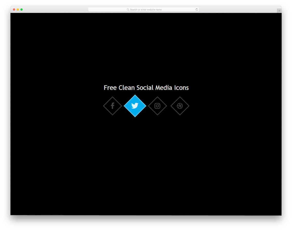 Clean-Social-Media-Icons