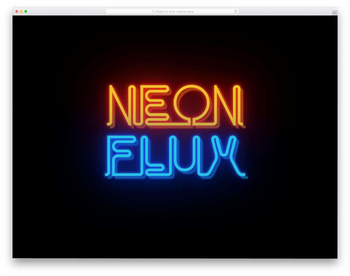 Neon-Flux