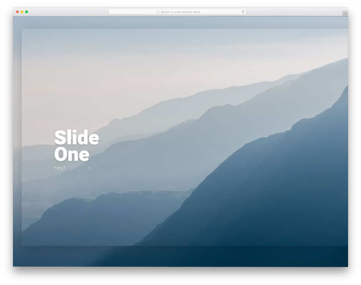 25 CSS Slideshow Design With Impressive Transition Effects - uiCookies