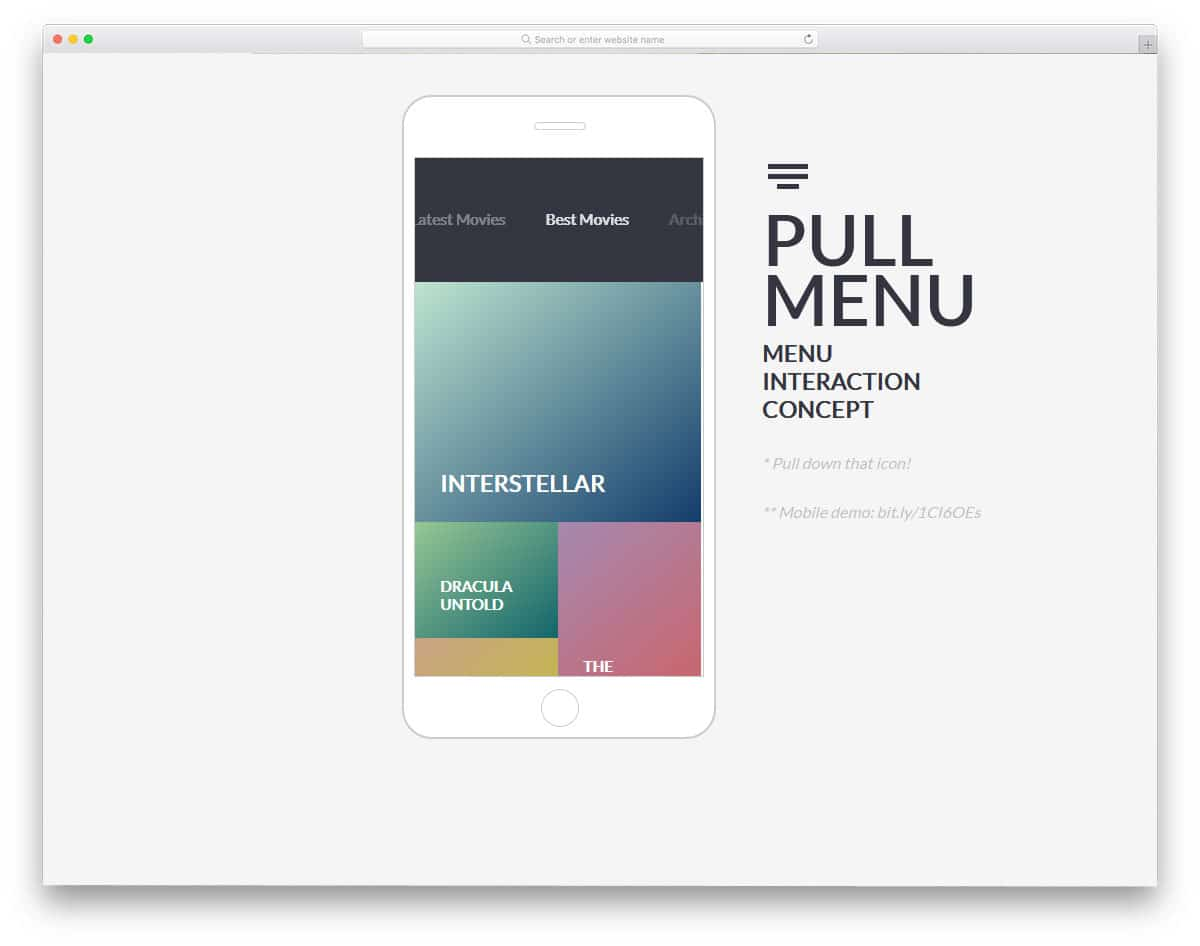 24 Trendy CSS Menu Designs Which Developers Can Use As A Muse