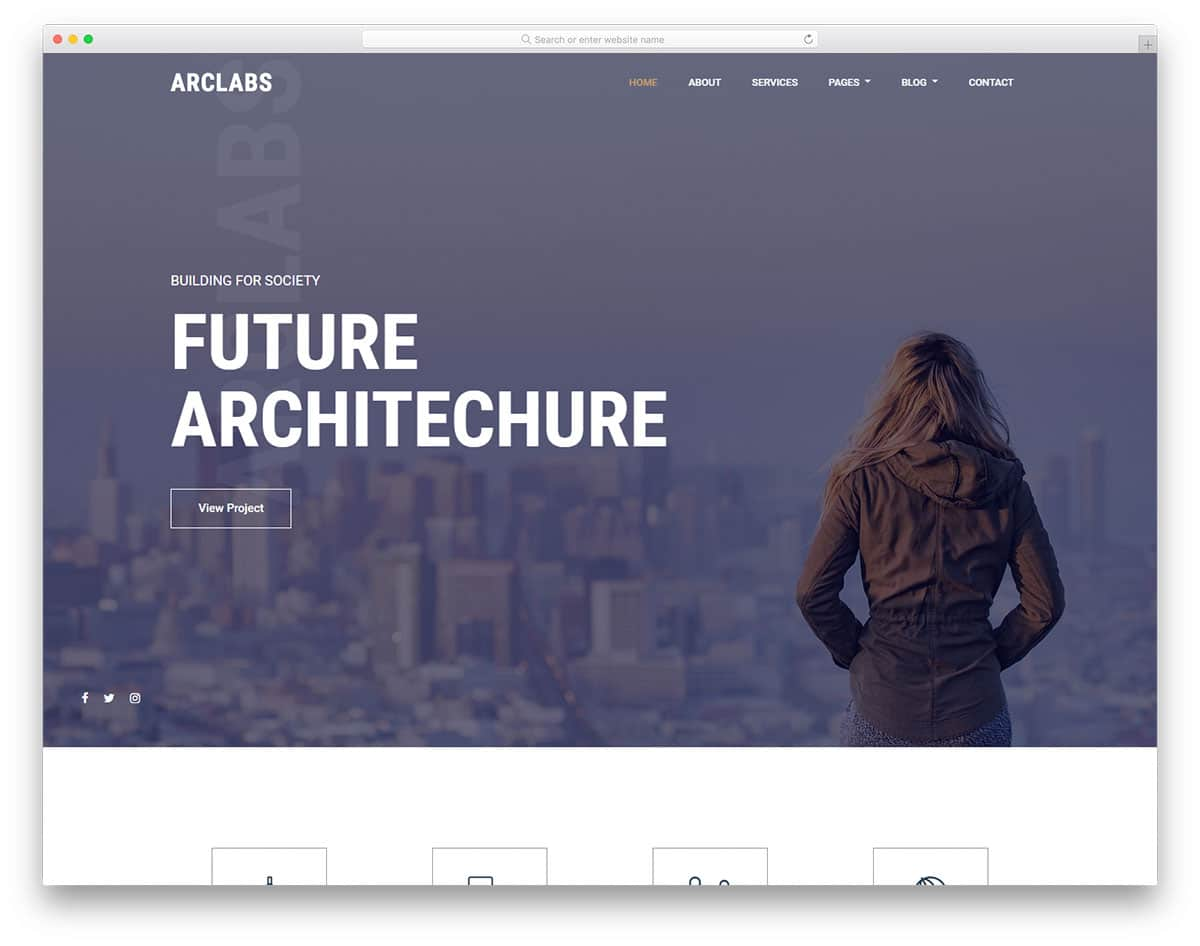 arclabs-free-home-builder-website-templates