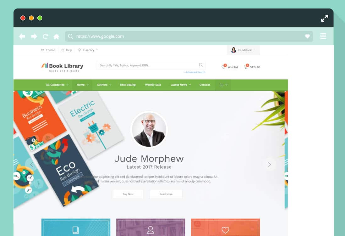 author website templates featured image
