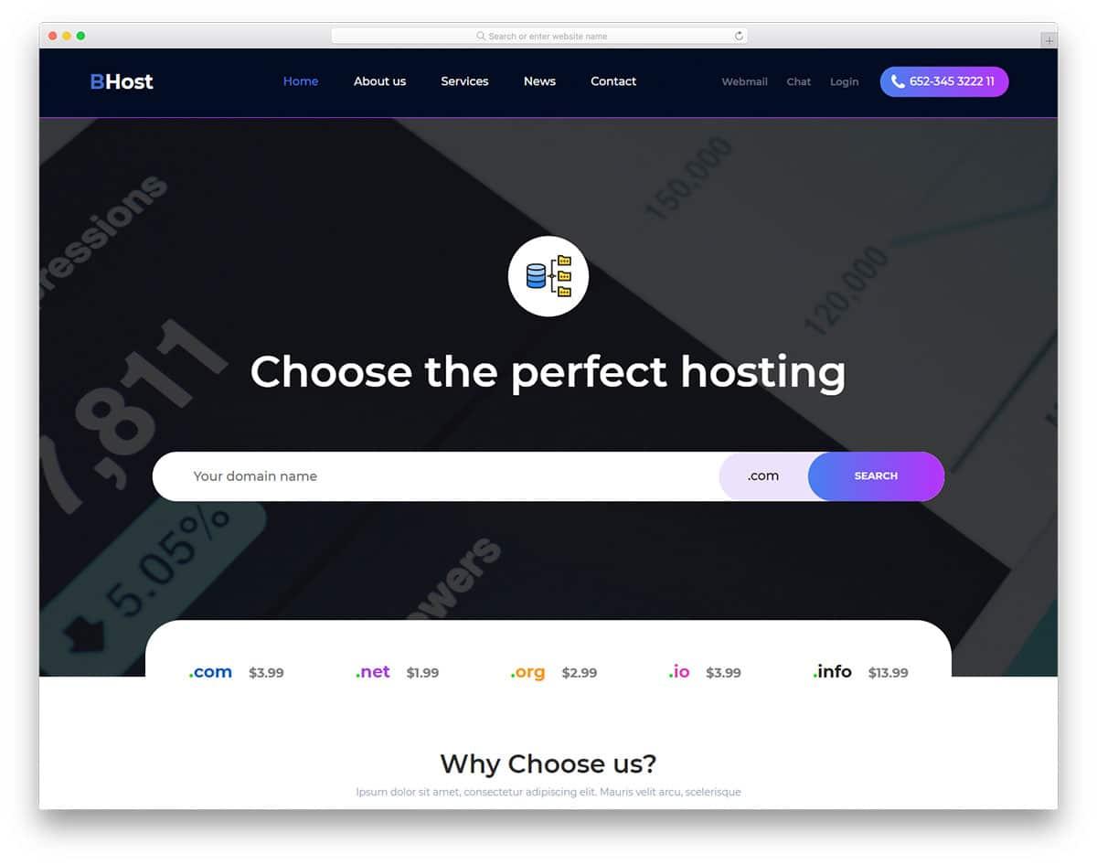 bhost-free-hosting-website-templates