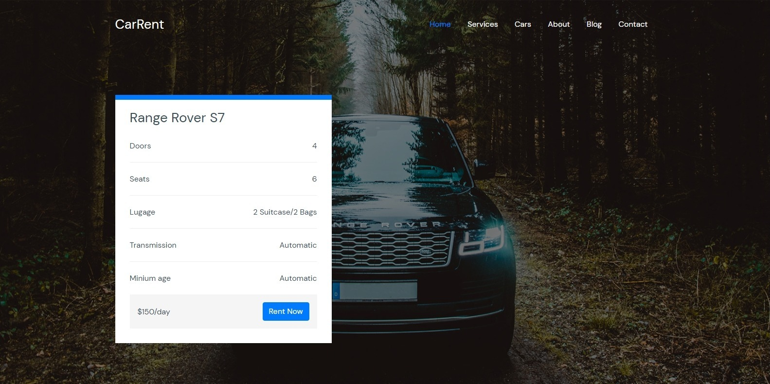 carrent-transportation-website-template