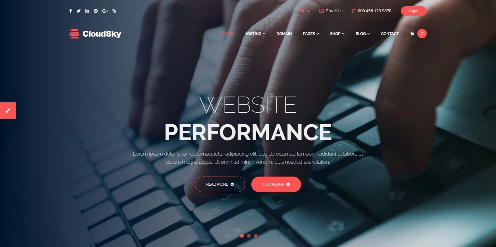 cloudsky-bootstrap-hosting-template