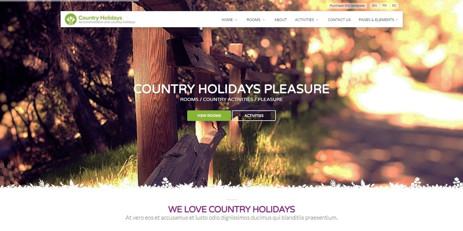 country-holidays-hotel-template
