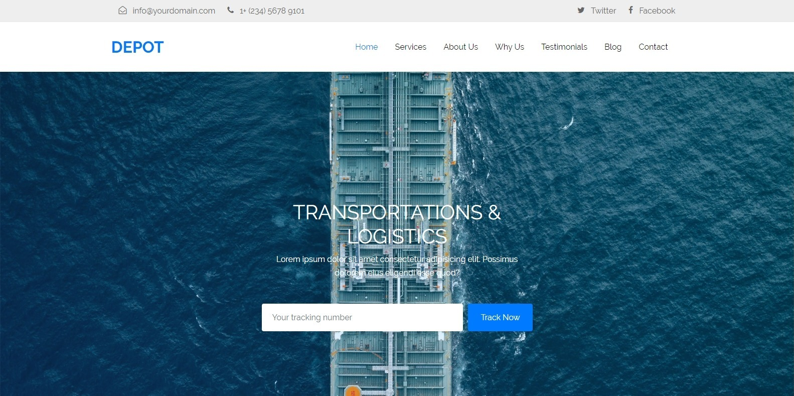 depot-transportation-website-template