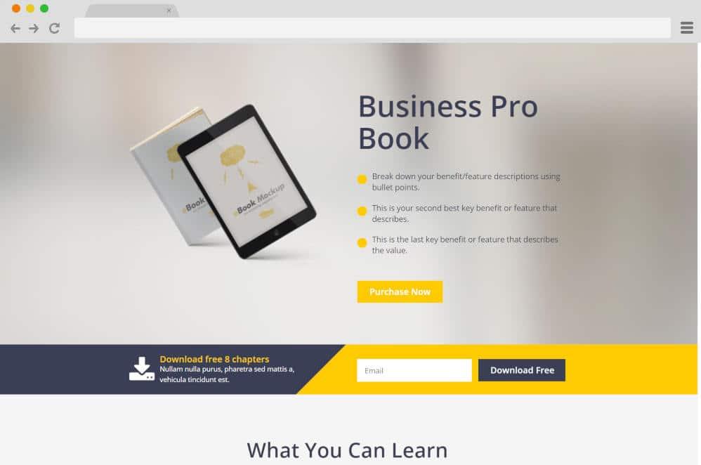 e-marketing author website templates