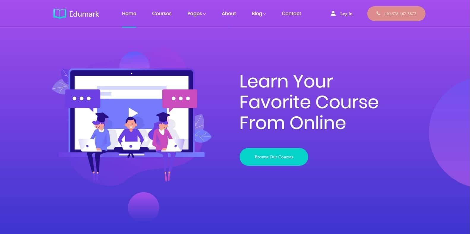 edumark-kindergarten-website-template
