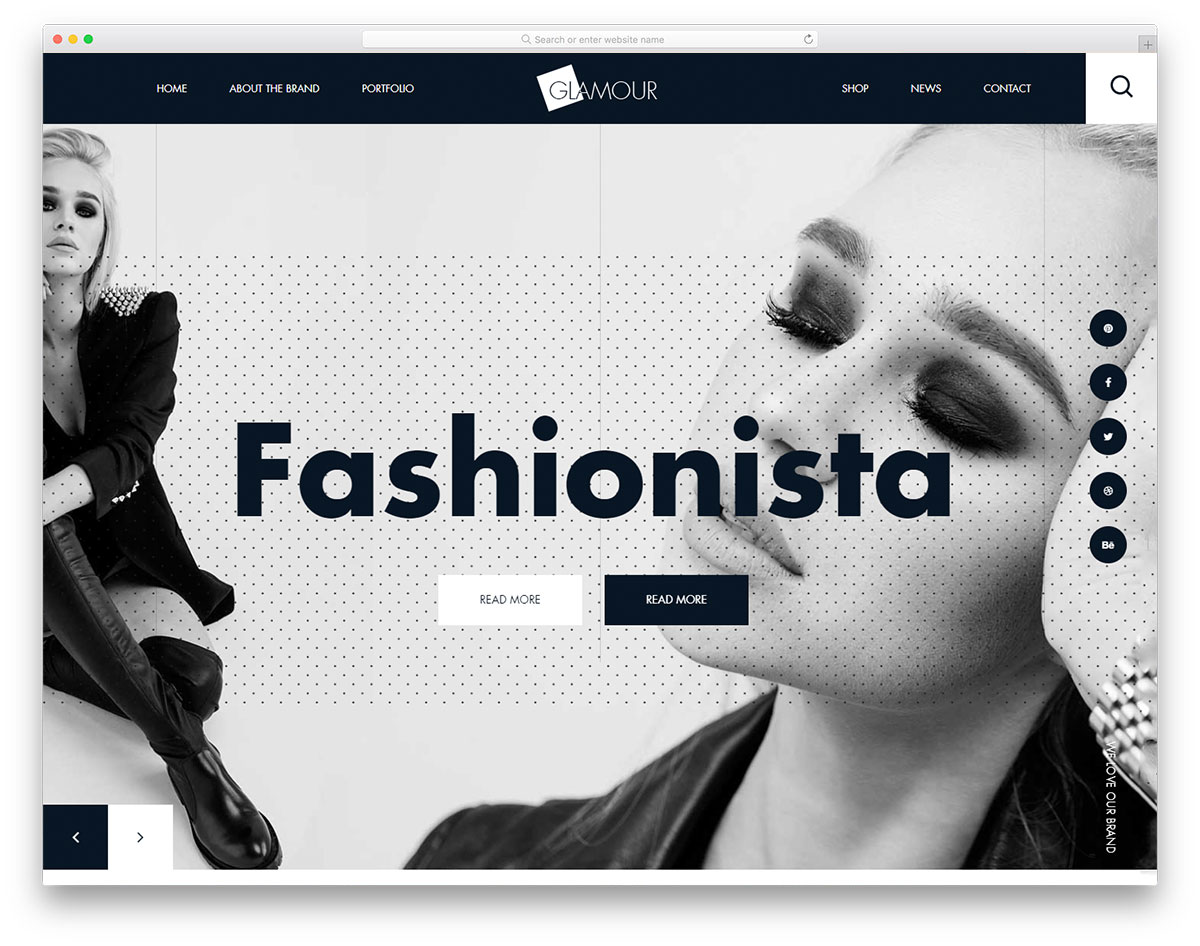 glamour-free-web-design-templates