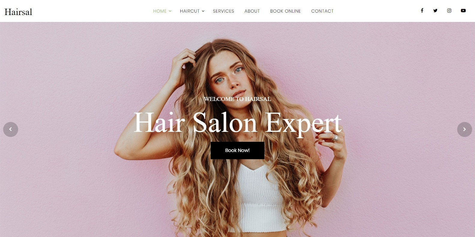 hairsal-spa-website-template