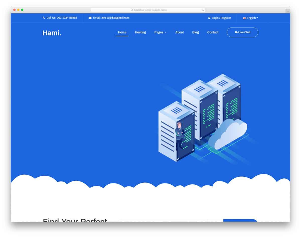 hami-free-hosting-website-templates