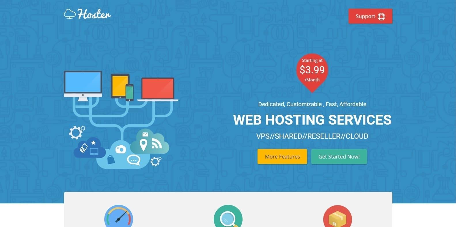 hoster-bootstrap-hosting-template