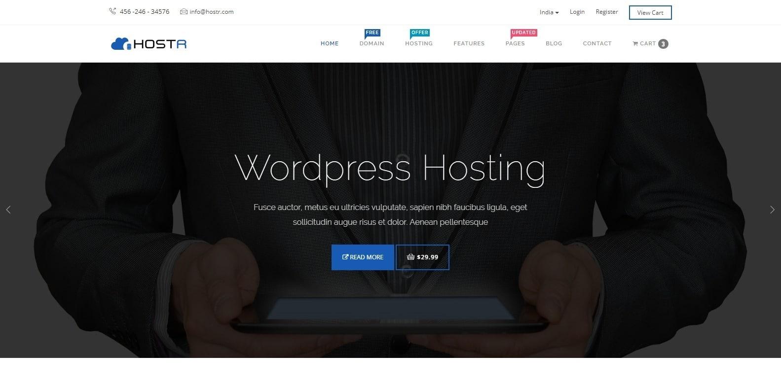hostr-bootstrap-hosting-template