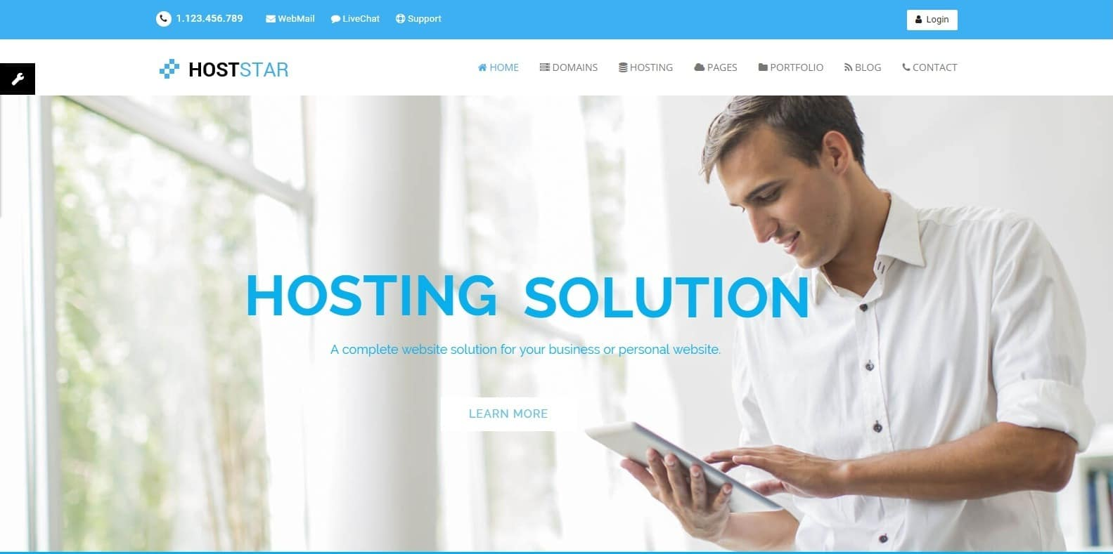 hoststar-bootstrap-hosting-template