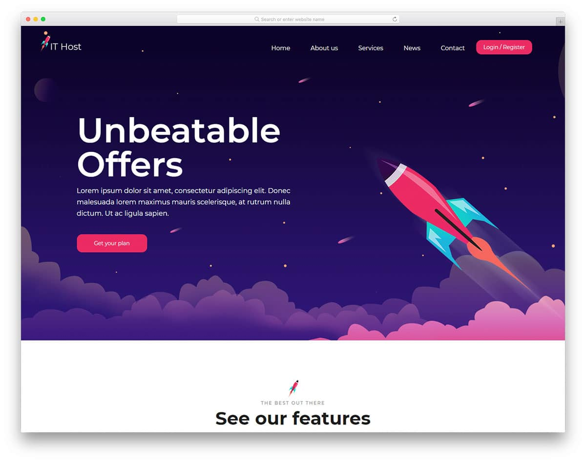 ithost-free-hosting-website-templates