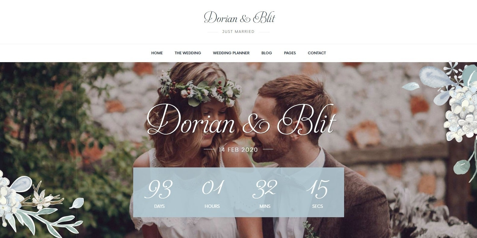 jolly-wedding-website-template
