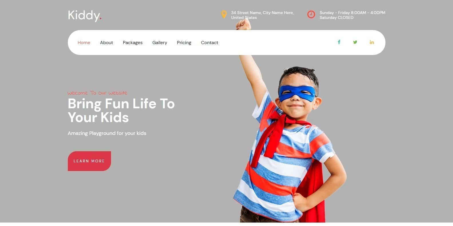 kiddy-kindergarten-website-template