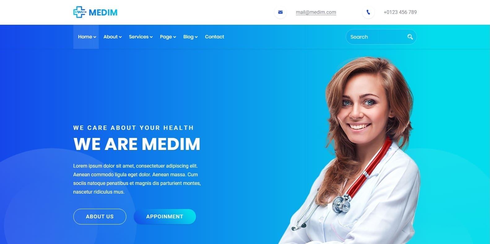 medim-medical-templates-html
