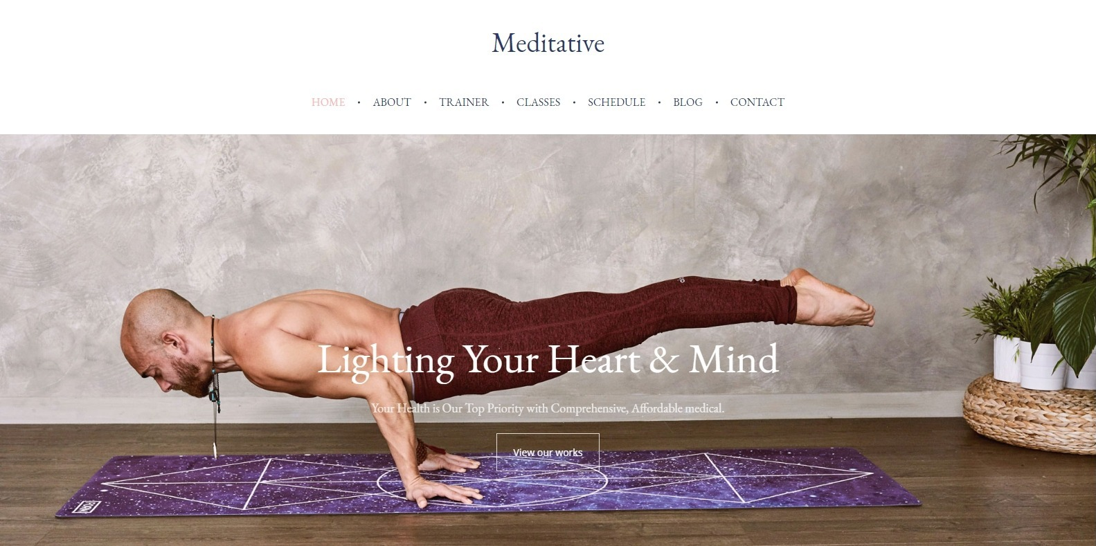 meditative-spa-website-template