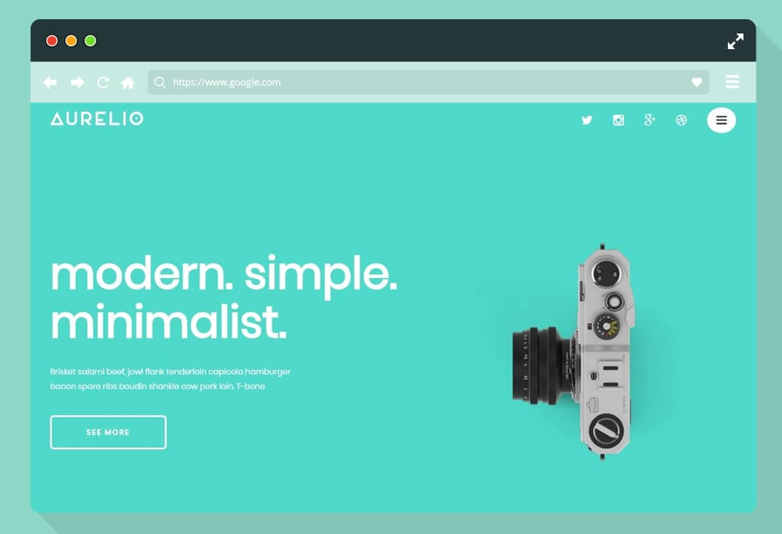 minimal-simple-website-template