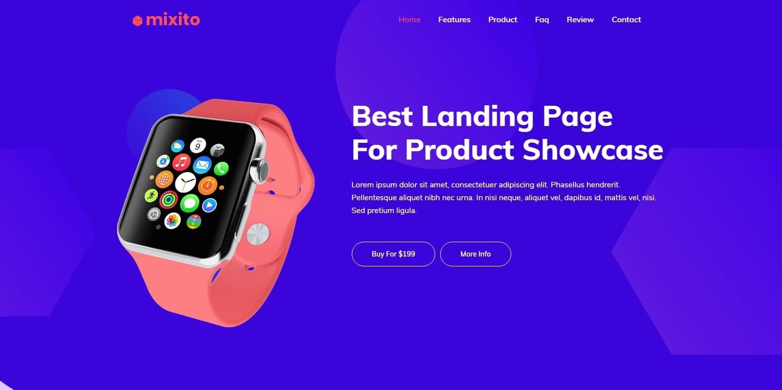 mixito-landing-page-template